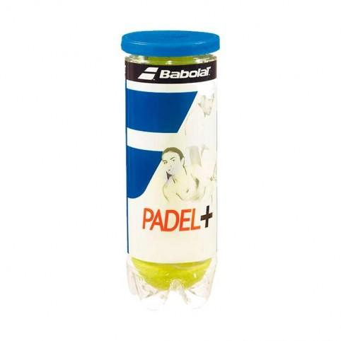 -Bote de pelotas Babolat Padel + X3