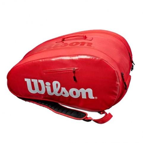 -Paletero Wilson Super Tour 2021 rojo