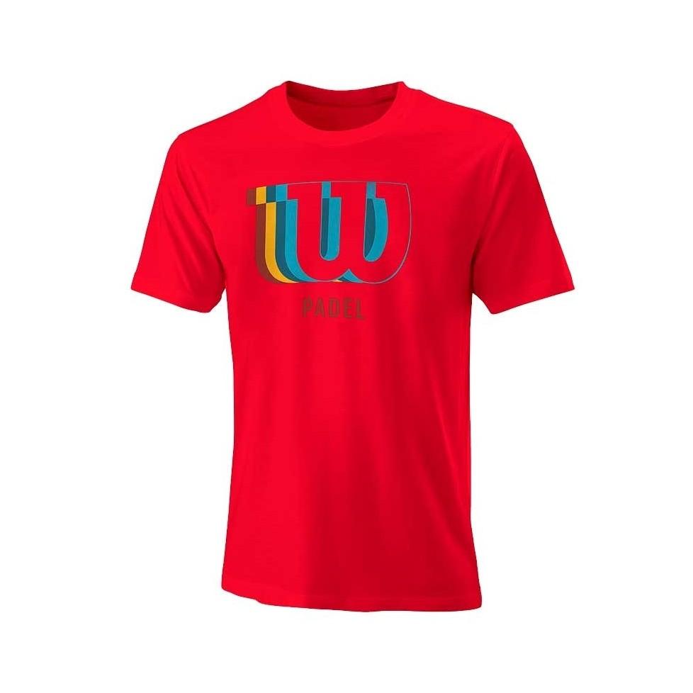 -Camiseta Wilson Blur 2021 rojo