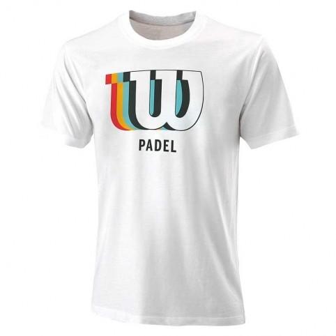 -Wilson Blur 2021 Camiseta Branca