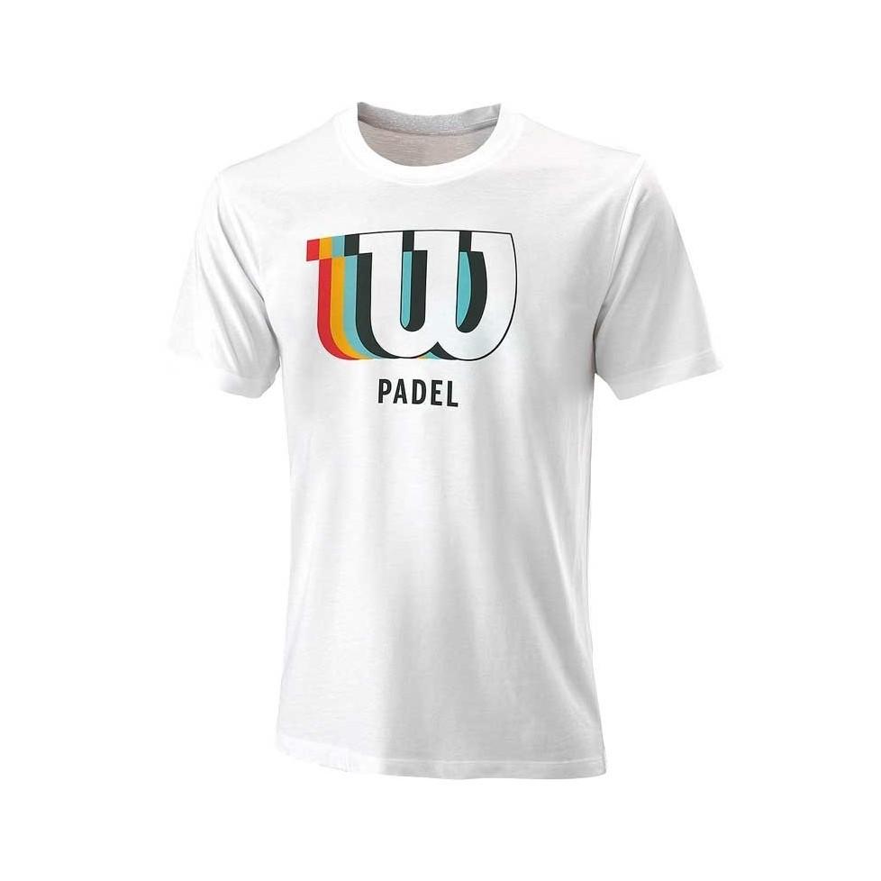 -Camiseta Wilson Blur 2021 blanco