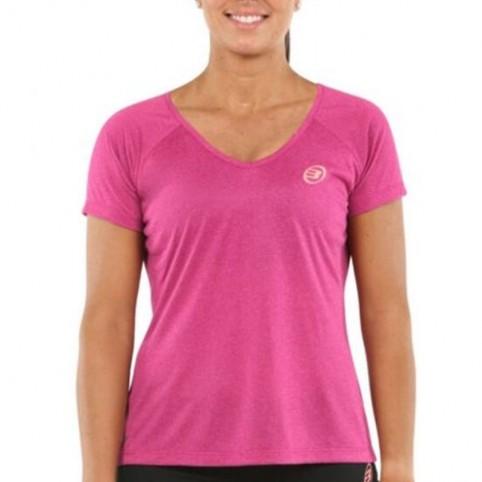 Bullpadel -T-shirt rosa Bullpadel Eilo 2021