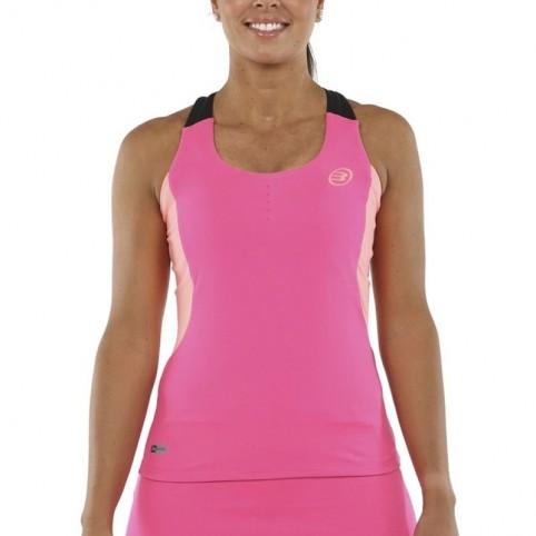 Bullpadel -Camiseta Bullpadel Eure 2021 rosa