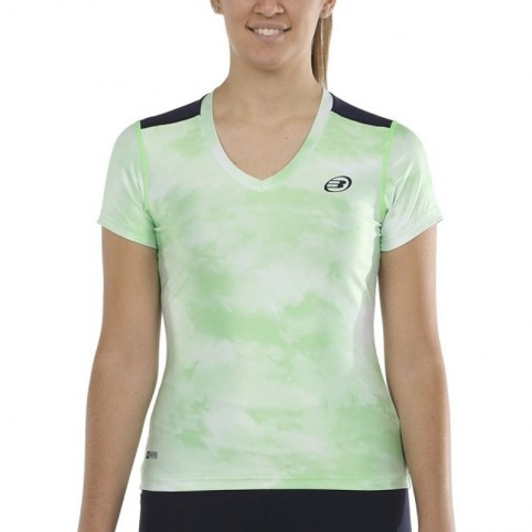 Bullpadel -Camiseta Bullpadel Eustas 2021 verde