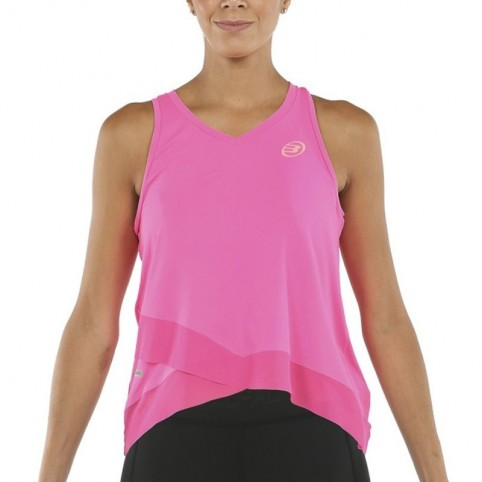Bullpadel -Camiseta Bullpadel Erdine 2021 rosa