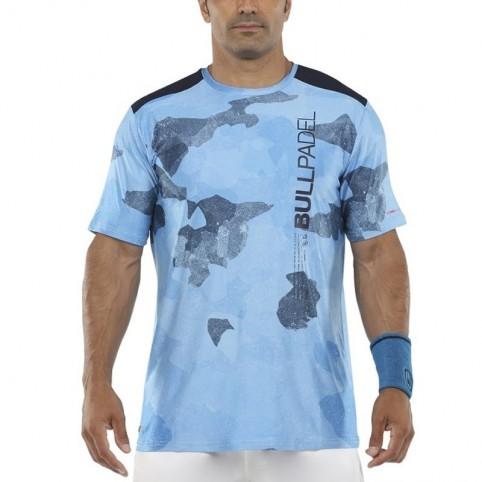 Bullpadel -T-shirt blu Bullpadel Mesay 2021