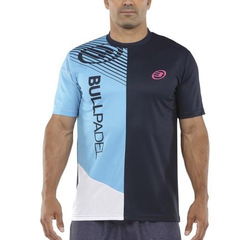 Bullpadel -T-shirt blu Bullpadel Carte 2021