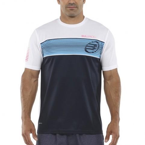 Bullpadel -T-shirt blu Bullpadel Caruru 2021