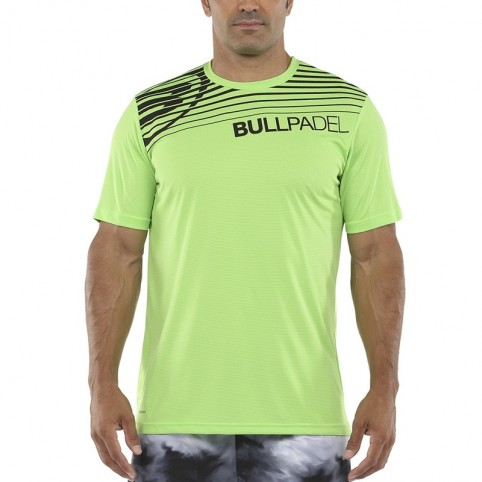 Bullpadel -Camiseta Bullpadel Choco 2021 verde