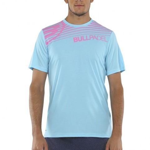 Bullpadel -T-shirt blu Bullpadel Choco 2021