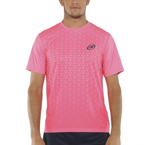 Bullpadel -T-shirt rosa Bullpadel Cartama 2021