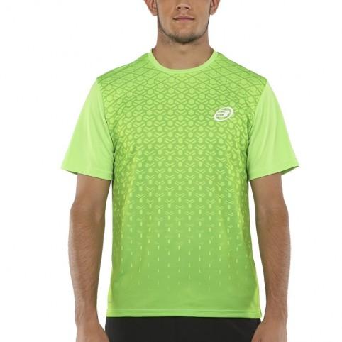 Bullpadel -T-shirt verde Bullpadel Cartama 2021
