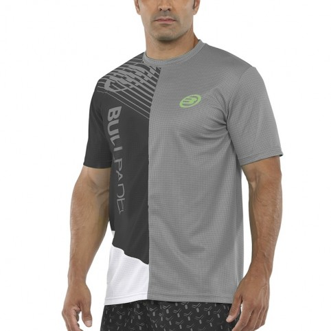 Bullpadel -T-shirt grigio Bullpadel Carte 2021