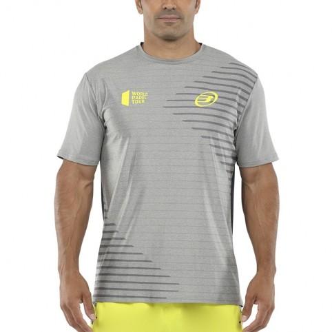 Bullpadel Vigia 2021 Camiseta Cinza | Roupa padel Bullpadel | Time2Padel