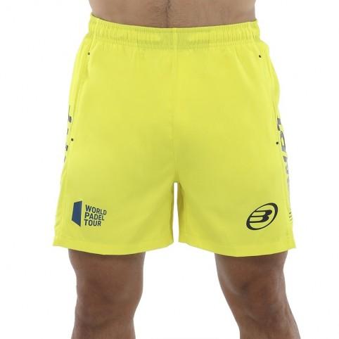 Bullpadel -Short Bullpadel Vetas 2021 yellow