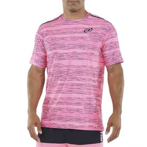 Bullpadel -T-shirt rosa Bullpadel Metane 2021