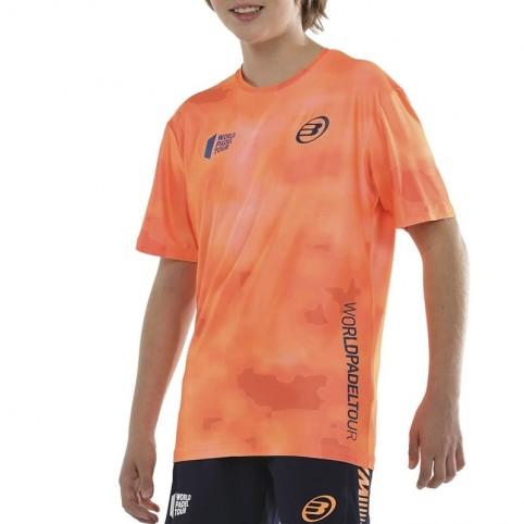 Bullpadel -Camiseta Bullpadel Vaupes JR 2021 naranj