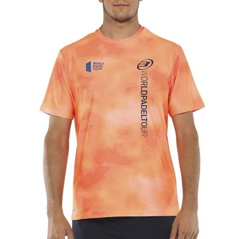 Bullpadel -T-shirt arancione Bullpadel Vaupes 2021