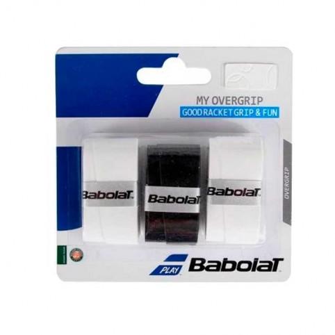 Babolat -My Overgrip Babolat black blister - blan