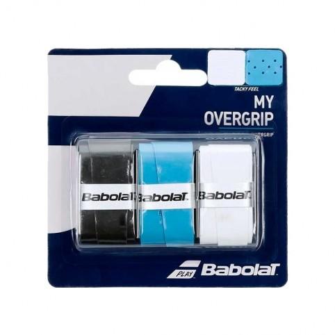 Babolat -My Overgrip Babolat blister black - blue