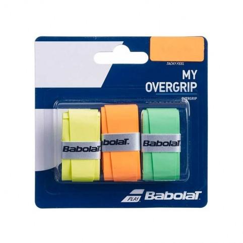 Babolat -Blister My Overgrip Babolat naranja