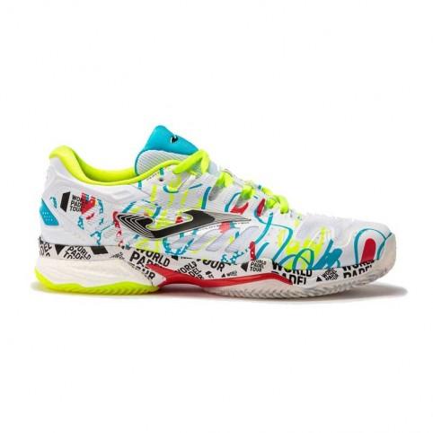 -Joma Slam Men WPT White Sneakers