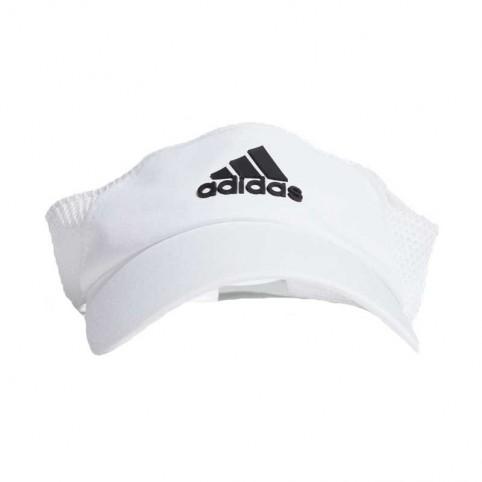 -Adidas Lightweight White Visor