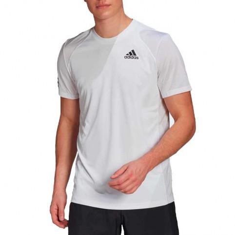 -Adidas Club 3 Tennis 2021 Maglia Bianca