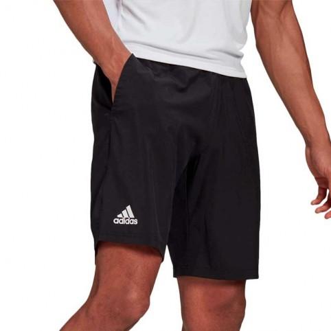 -Short Adidas Club Stretch Tessuto 2021 Nero