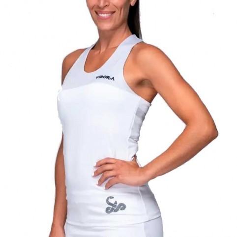 -Camiseta mujer Vibor-a Diva 2021 blanco