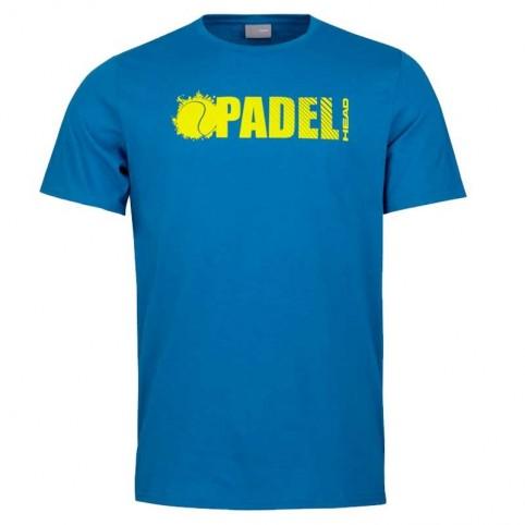 Head -Camiseta Head Padel Font BL 2021 FW