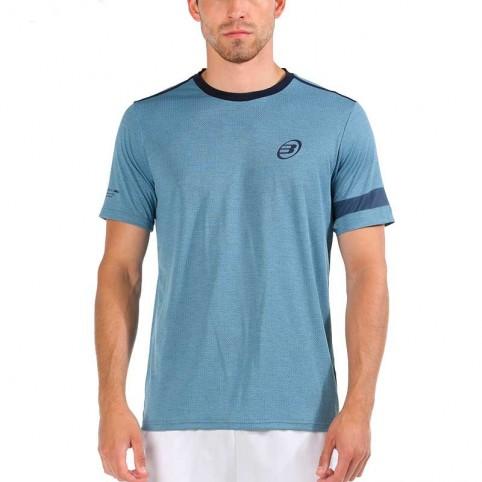 Bullpadel -T-shirt grigia AI Bullpadel