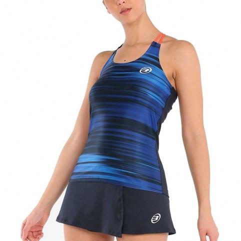 Bullpadel -Camiseta Bullpadel Utica 2021 azul FW