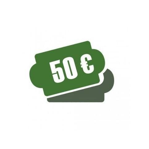 -Cheque Regalo 50 €