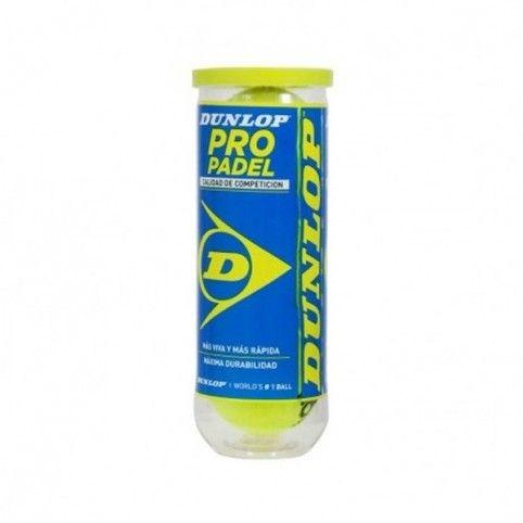 -Bote Bolas Dunlop Pro Padel