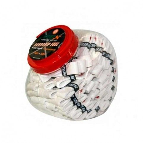 -Bote overgrips tacto 120 ud blanco