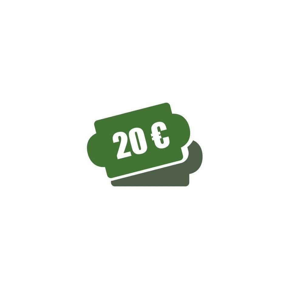 -Cheque Regalo 20 €