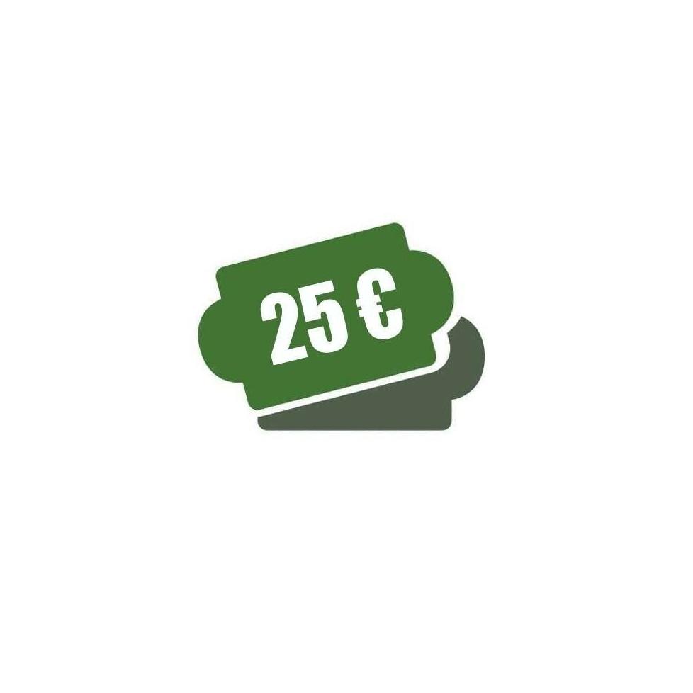 -Cheque Regalo 25 €
