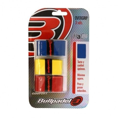 -Overgrips Bullpadel 3 PCs.