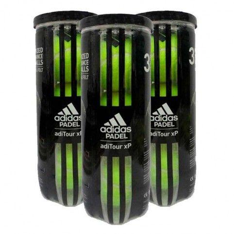 -Tripack Bolas Adidas Aditour XP